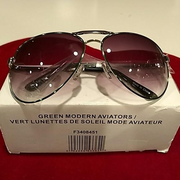 fec4618e43 CHINA Accessories - NEW 💛GREEN MODERN AVIATOR sunglasses